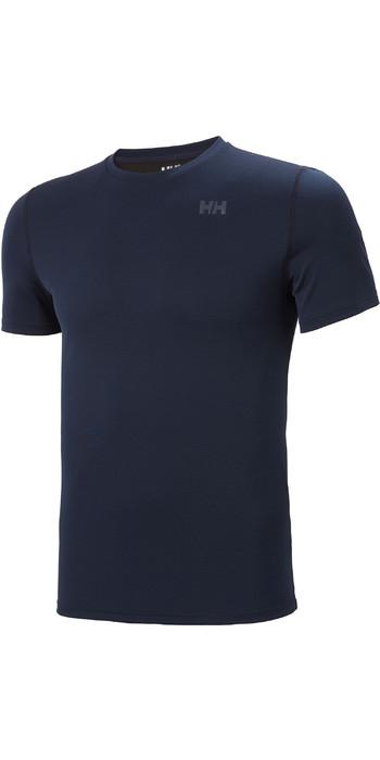 2021 Helly Hansen Mens Lifa Active Solen T-Shirt 49349 - Navy