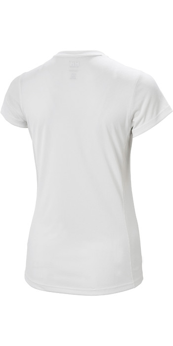 2021 Helly Hansen Womens Lifa Active Solen T-Shirt 49353 - White