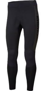 2020 Helly Hansen Mens Water Wear 2mm Neoprene Trousers 34017 - Black