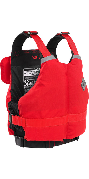 2021 Palm Highside Rafter 50N Buoyancy Aid 10381 - Red