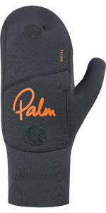 2020 Palm Talon 3mm Open Palm Neoprene Mitts 12327 - Jet Grey