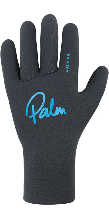2021 Palm Grab High Five Neoprene Gloves 12330 - Jet Grey