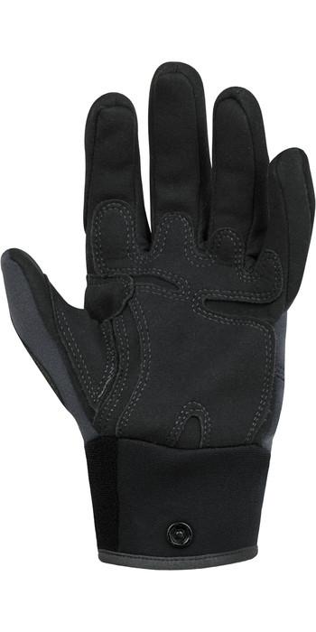 2021 Palm Throttle 2mm Neoprene Gloves 12332 - Jet Grey
