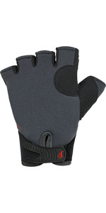 2021 Palm Clutch 2mm Neoprene Short Finger Gloves 12333 - Jet Grey