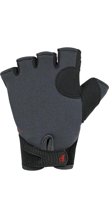 2021 Palm Clutch 2mm Neoprene Short Finger Gloves 12333 - Jet Grey