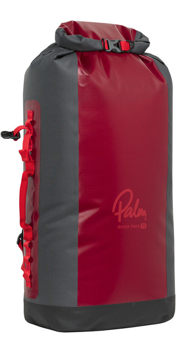 2021 Palm River Trek 75L Dry Back Pack 12348 - Chilli / Jet Grey