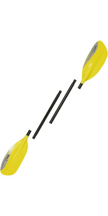 2020 Palm Maverick G1 4-Piece Whitewater Paddle 12286 - Saffron