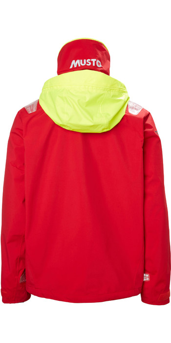 2021 Musto Mens BR1 Inshore Sailing Jacket 81208 - True Red