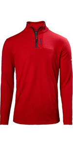 2020 Musto Mens Sardinia 1/2 Zip Fleece 82018 - Red