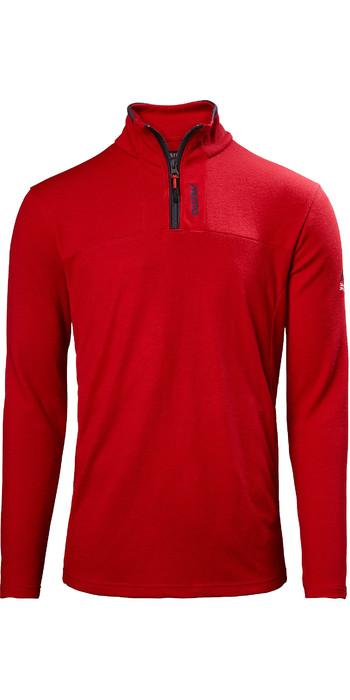 2021 Musto Mens Sardinia 1/2 Zip Fleece 82021 - Red