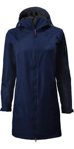 2020 Musto Womens Sardinia Long Rain Jacket 82022 - Navy