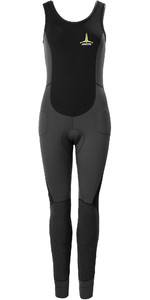 2020 Musto Womens Foiling Thermocool 1.5mm Impact Long John Wetsuit 80926 - Dark Grey / Black