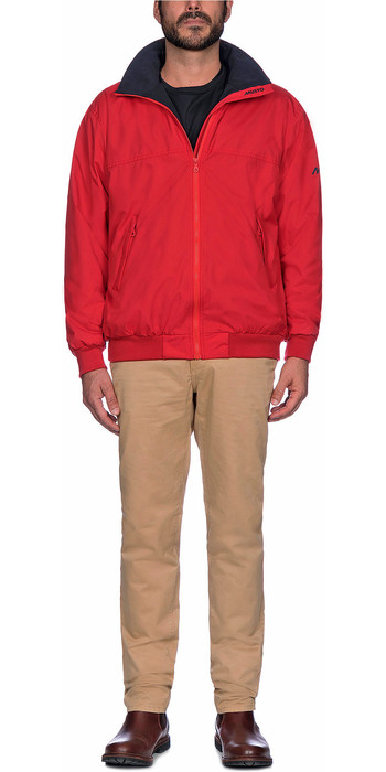 2021 Musto Mens Snug Blouson Jacket 80667 - True Red / True Navy