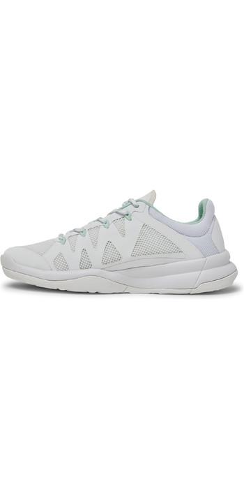 2021 Musto Womens Dynamic Pro II Adapt Sailing Shoes 82028 - White