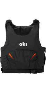 2021 Gill Junior Pro Racer Side Zip 50N Buoyancy Aid 4916J - Black / Orange