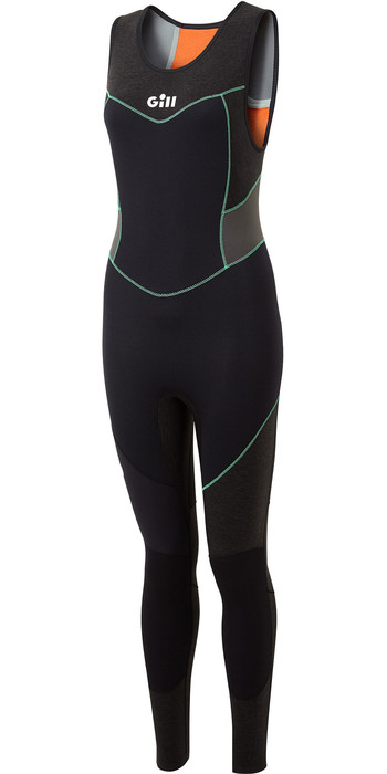 2021 Gill Womens Zentherm 3mm GBS Skiff Suit 5000W - Black