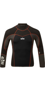 2021 Gill Mens Zentherm 2.5mm GBS Neoprene Top 5001 - Black