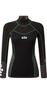 2021 Gill Womens Zentherm 2.5mm GBS Neoprene Top 5001W - Black