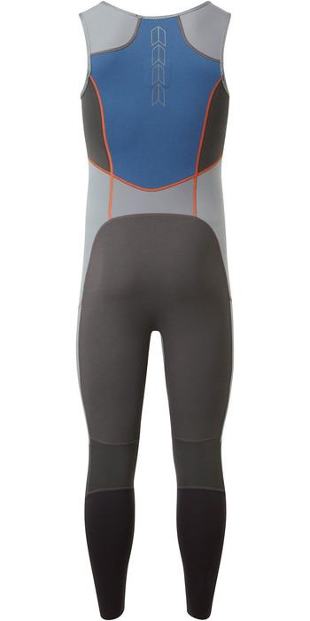 2021 Gill Mens Zenlite 2mm Flatlock Skiff Suit 5002 - Steel Grey