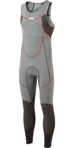 2020 Gill Mens Zenlite 2mm Flatlock Skiff Suit 5002 - Steel Grey