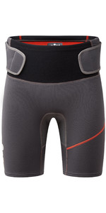 2021 Gill Mens Zenlite 2mm Flatlock Neoprene Shorts 5004 - Graphite