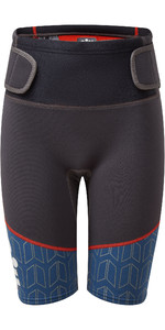 2021 Gill Junior Zenlite 2mm Flatlock Neoprene Shorts 5004J - Graphite