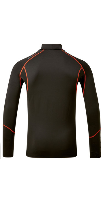 2021 Gill Mens Hydrophobe Long Sleeve Top 5006 - Black