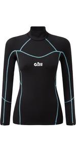 2020 Gill Womens Hydrophobe Long Sleeve Top 5006W - Black