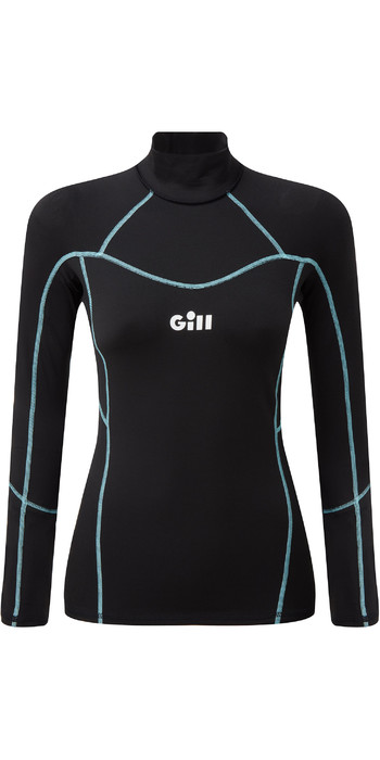 2020 Gill Womens Hydrophobe Long Sleeve Top 5006W - Black