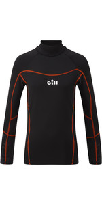 2021 Gill Junior Hydrophobe Long Sleeve Top 5006J - Black