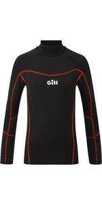 2020 Gill Junior Hydrophobe Long Sleeve Top 5006J - Black