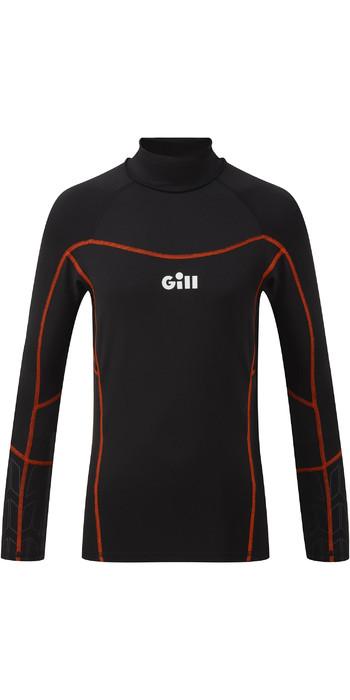 2021 Gill Junior Hydrophobe Long Sleeve Top 5006J - Black