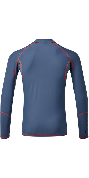 2021 Gill Mens Pro Long Sleeve Rash Vest 5020 - Ocean