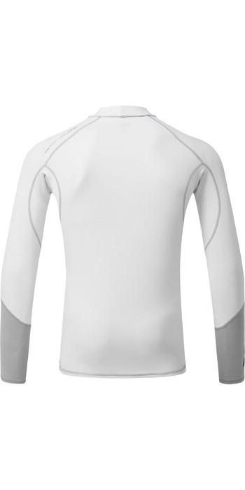 2021 Gill Mens Pro Long Sleeve Rash Vest 5020 - White