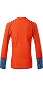 2021 Gill Junior Pro Long Sleeve Rash Vest 5020J - Orange