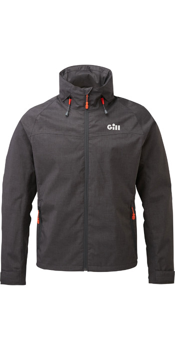 2020 Gill Mens Pilot Jacket IN81J - Graphite Melange