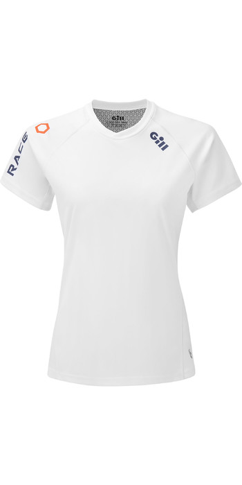2021 Gill Womens Race Tee RS36W - White