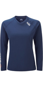 2020 Gill Womens Race Long Sleeve Tee RS37W - Dark Blue