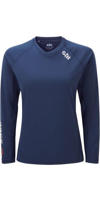 2021 Gill Womens Race Long Sleeve Tee RS37W - Dark Blue