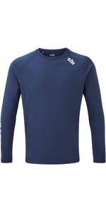2020 Gill Mens Race Long Sleeve Tee RS37 - Dark Blue