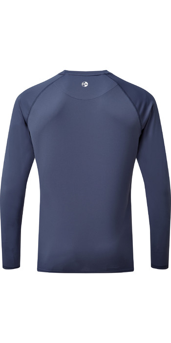 2021 Gill Mens Long Sleeve UV Tec Tee UV011 - Ocean