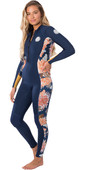 2020 Rip Curl Womens G-Bomb 2mm Front Zip Wetsuit WSM8HS - Navy