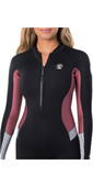 2020 Rip Curl Womens G-Bomb 2mm Front Zip Wetsuit WSM8HS - Sun Rust