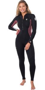 2020 Rip Curl Womens G-Bomb 2mm Front Zip Wetsuit WSM8HS - Sun Rust