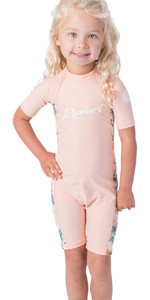 2020 Rip Curl Toddler Girls UV Sun Suit WLY9CF - Peach