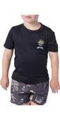 2020 Rip Curl Toddler Boys Search Short Sleeve Rash Vest WLY9BO - Black