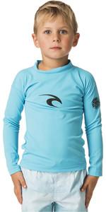2020 Rip Curl Toddler Boys Corpo Long Sleeve Rash Vest WLY5CO - Blue