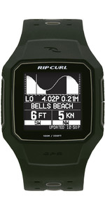 2020 Rip Curl Search GPS Series 2 Smart Surf Watch A1144 - Military Green