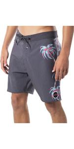2020 Rip Curl Mens Mirage Palm Strip Boardshorts CBOBA9 - Black
