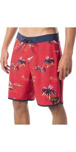 2020 Ripcurl Mens Mirage Velzy Boardshorts CBOBB9 - Bright Red